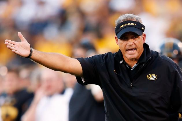 SEC: Mizzou's Gary Pinkel Favors Paying College Football Players
