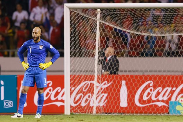 Tim Howard Embracing Pressure from Mexico Clash, Brad Guzan