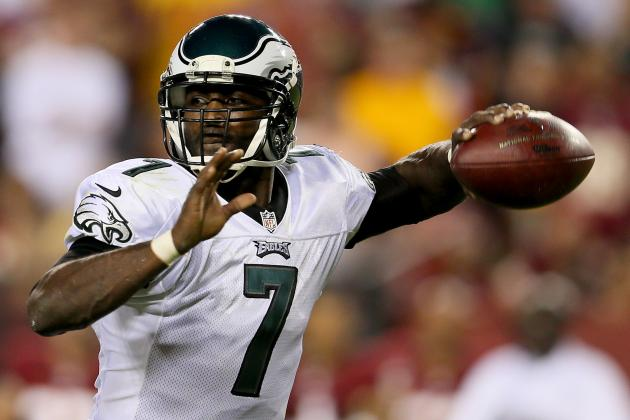 Michael Vick: Grading Philadelphia Eagles QB's Week 1 Performance vs. Redskins