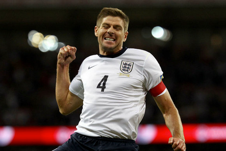 Steven Gerrard Hopes Englands Youngsters Will Shine