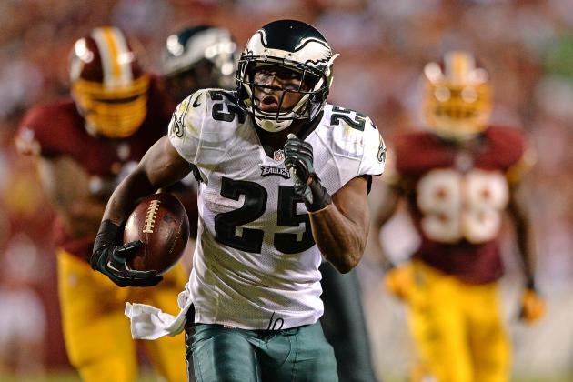 Eagles Race Past Redskins in Opener