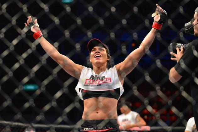 UFC Fight Night 31 Fight Card Gets Amanda Nunes vs. Germaine de Randamie