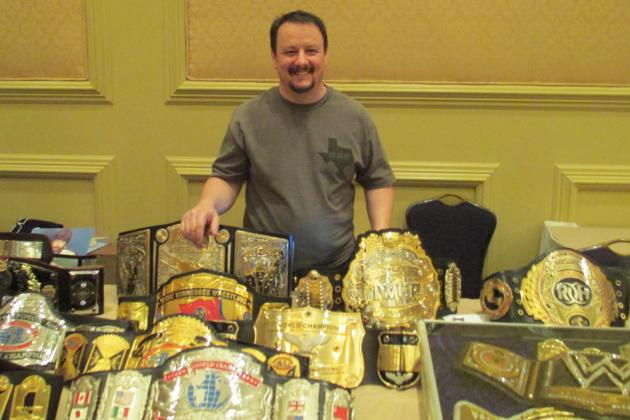 WWE Championship Belt Maker Dave Millican Talks 'Big Logo' 2013 WWE Belt & More