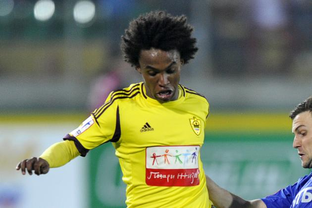Willian Faces Fight for Blues Start
