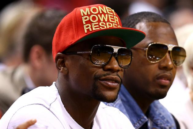 Floyd Mayweather Jr. Allegedly Being Sued for Not Paying for NBA Finals Tickets