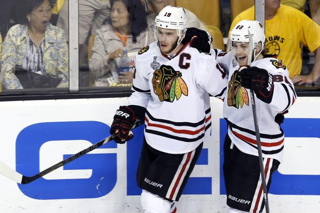 Should Jonathan Toews and Patrick Kane Play on the Same Line in 2013-14?