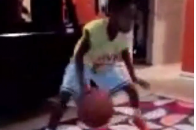 Marbury's 8-Year-Old Has Sick Handles