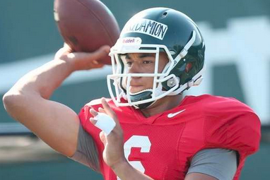 Connor Cook, Damion Terry to Get Most Practice Reps at QB