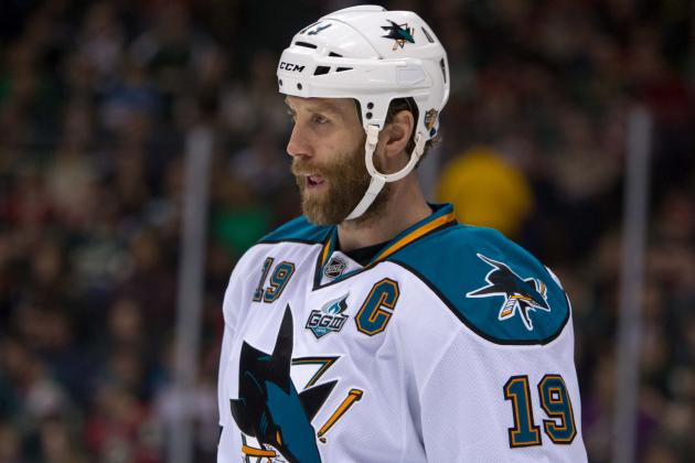 Sharks' Joe Thornton Has No Regrets About Skipping Canadian Olympic Team's...