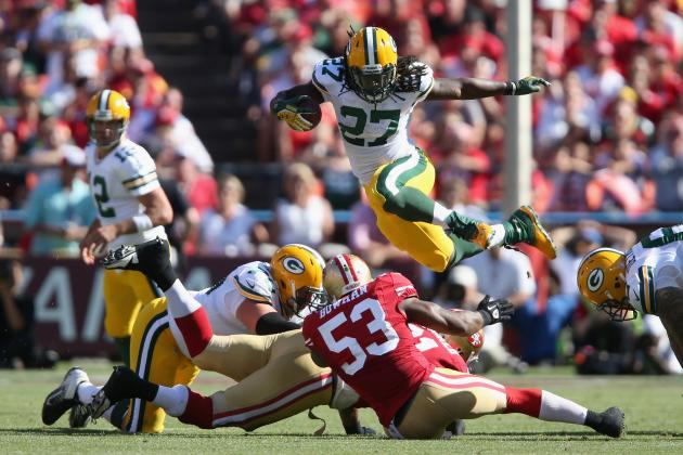 Breaking Down Eddie Lacy's NFL Debut for the Green Bay Packers