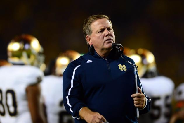 Kelly Expects Notre Dame to Be in Physical Matchup vs. Purdue