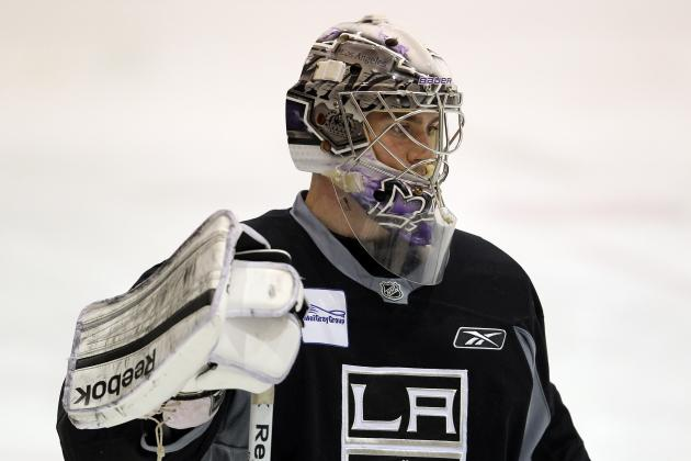 Kings and Goaltender Martin Jones Agree to Terms on a Two-Year Contract