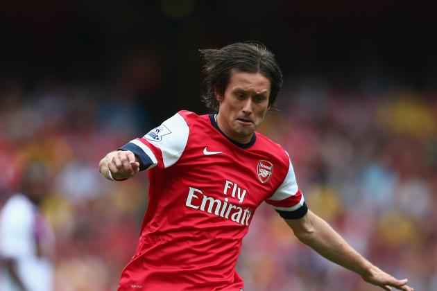 Tomas Rosicky Injury: Updates on Arsenal Midfielder's Thigh