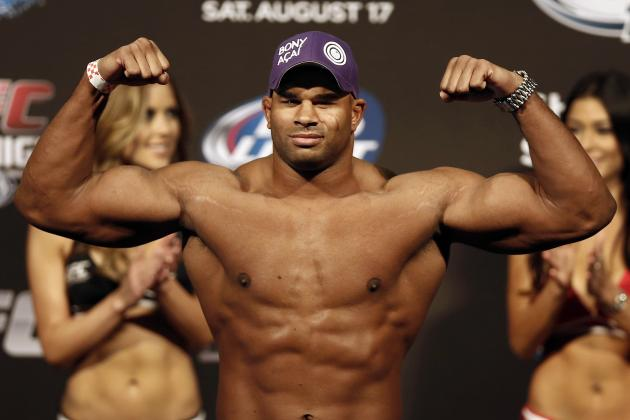 Alistair Overeem and Shogun Rua Lead UFC Fight Night 26 Salaries