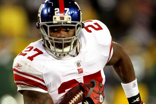 Report: Giants Will Re-Sign RB Brandon Jacobs