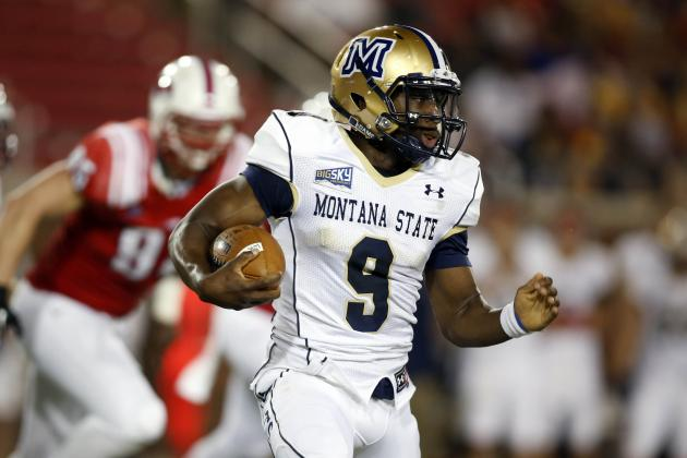 FCS College Football: Montana State Loses QB DeNarius McGhee to Shoulder Injury