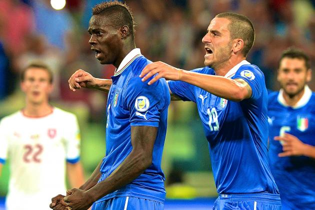 Italy vs. Czech Republic: Score, Grades and Post-Match Reaction