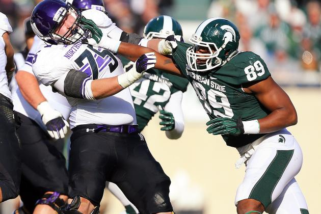 Michigan State Football: Shilique Calhoun Wins National Defensive Player of Week