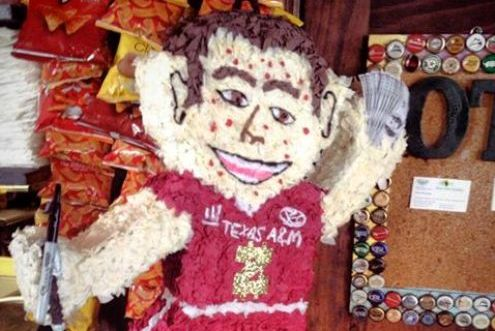 Alabama Bar Creates a Pinata in the Likeness of Johnny Manziel
