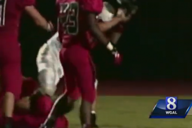 Police Investigating High School Football Helmet Beating
