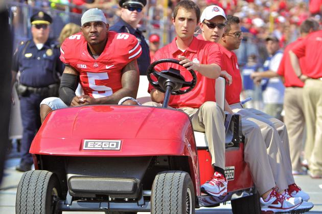 Braxton Miller Injury: Updates on Ohio State QB's Knee, Potential Return Date