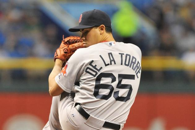 Red Sox Announce Jose De La Torre Has Been Designated for Assignment