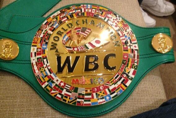 Floyd Mayweather and Canelo Alvarez Will Fight for a Solid Gold WBC Belt