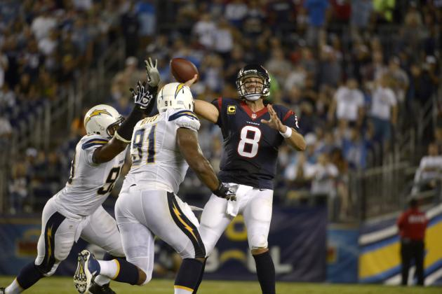 Best Twitter Responses to Houston Texans-San Diego Chargers
