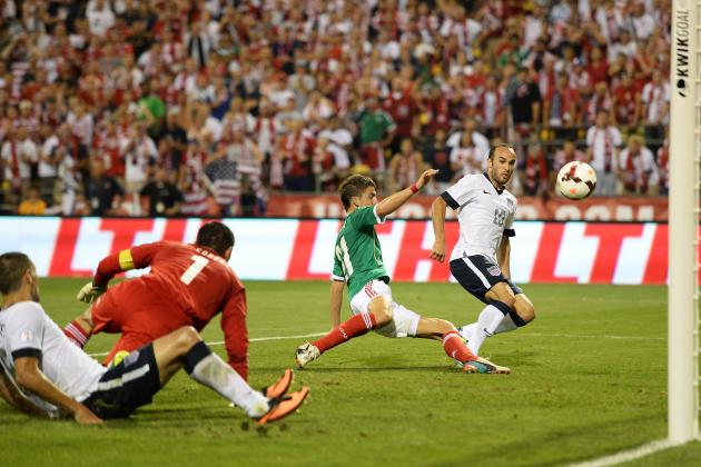 USMNT rout Mexico