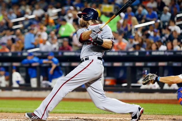 Jayson Werth Powers Washington to Fourth Straight Win