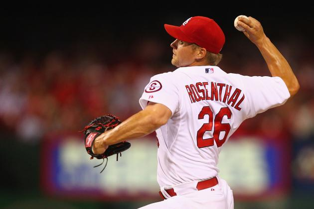 Rosenthal Sets Reliever Strikeout Mark