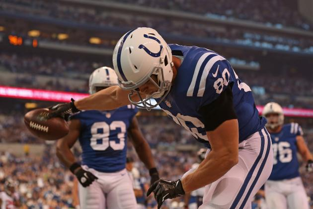Why Coby Fleener Was Invisible in the Colts' Win over the Raiders