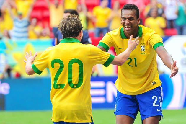 Luiz Felipe Scolari's Brazil Grows in Friendlies Against Australia and Portugal