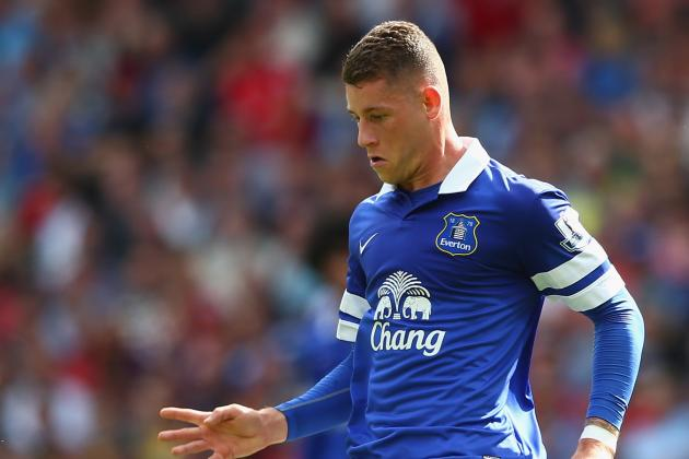 Ross Barkley Can Make Up for Everton's Loss of Marouane Fellaini