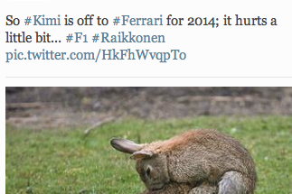 Lotus Don't Seem to Be Taking the Raikkonen News Very Well