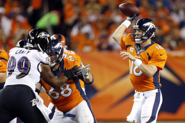 Manning Named AFC Offensive Player of the Week