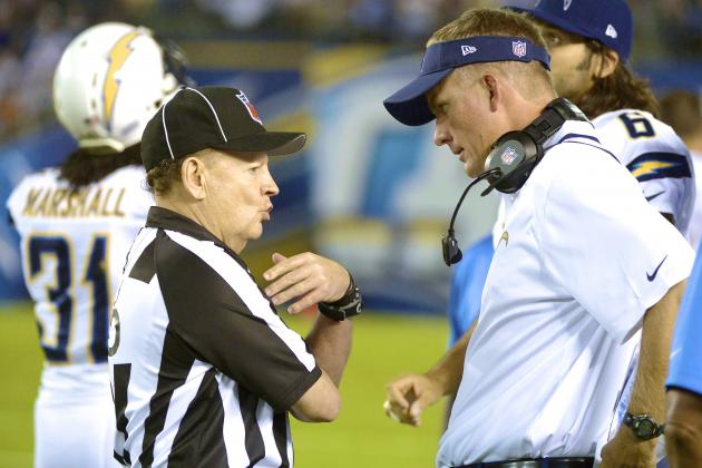 Umpire Blew Call During Texans vs. Chargers, Says NFL VP of Officiating