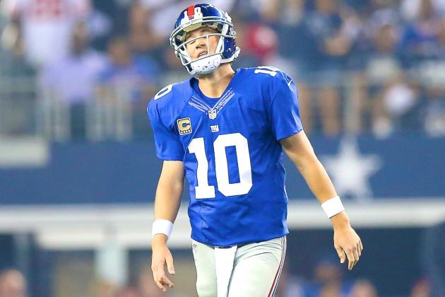 Without Reliable Backfield, Is Eli Manning Being Asked to Do Too Much?