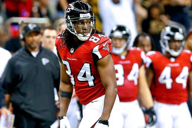 Roddy White's Ankle Injury: A Look at His High-Ankle Sprain, Fantasy Value