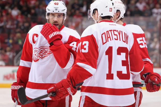Who Will Be the Odd Men out in Detroit Red Wings' Crowded Stable of Forwards?