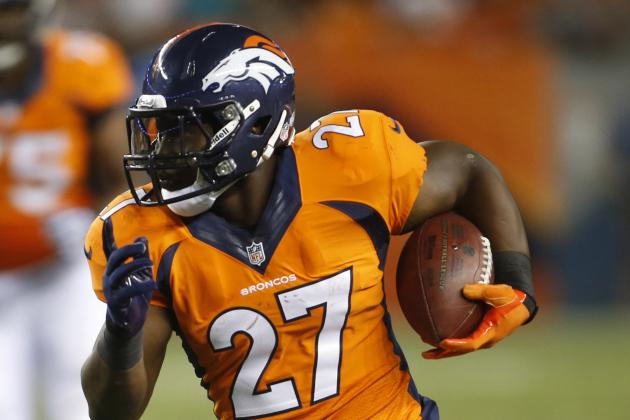 Broncos RB Moreno, who started vs. Ravens, just keeps working hard