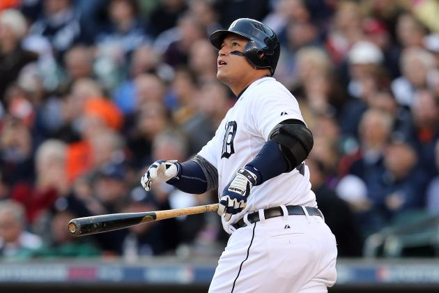 Detroit Tigers 3B Miguel Cabrera Has Incredible Plate Coverage