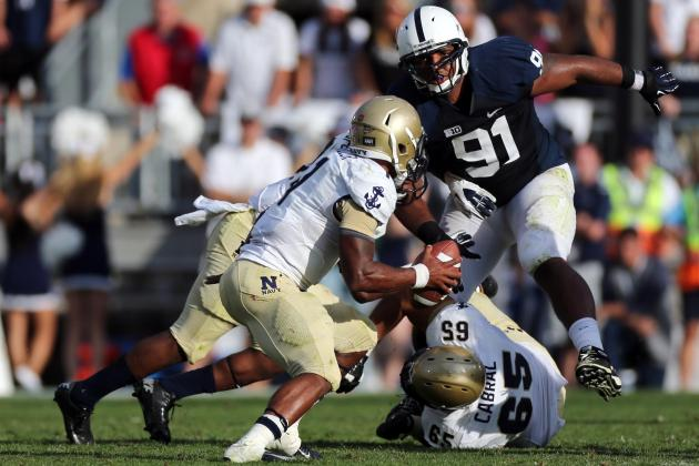 PSU DT Jones Exceeding Expectations