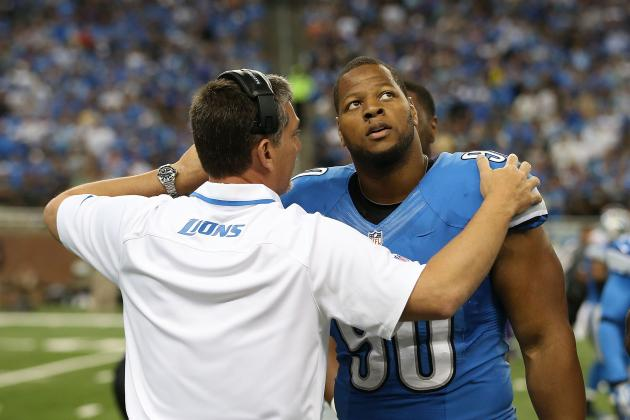 Does Jim Schwartz Deserve Blame for Ndamukong Suh's Dirty Play?
