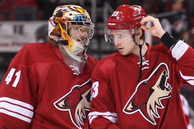 Phoenix Coyotes Start Camp Happy to Have Full Schedule