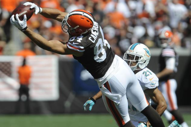 2013 Fantasy Football Week 2 Rankings: Top 20 Tight Ends
