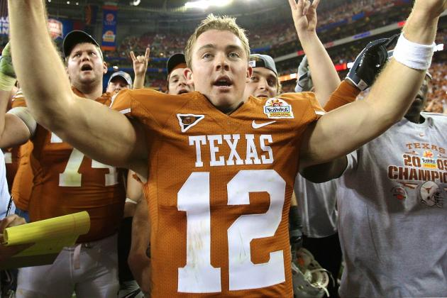 History of Texas Longhorns Quarterbacks Post-Colt McCoy