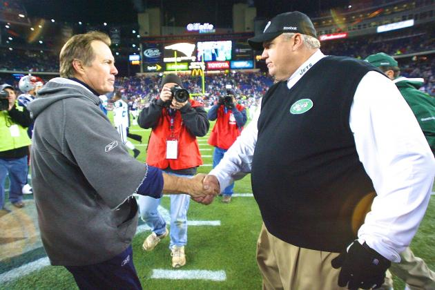 Rex Ryan Once Proclaimed He Would Punch Bill Belichick to Motivate His Players