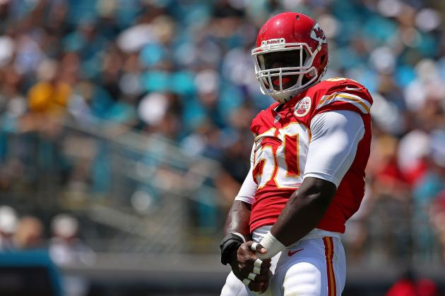 Chiefs' Linebacker Justin Houston Named AFC Defensive Player of the Week