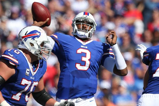 Despite Impressive Debut, EJ Manuel Still Looking for Deep Ball Consistency